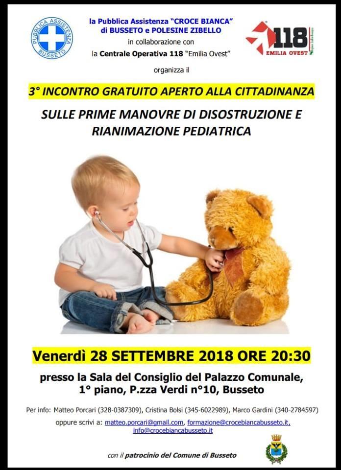 Incontro Disostruzione Pediatrica a Busseto