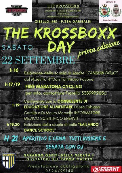 The krossboxx day