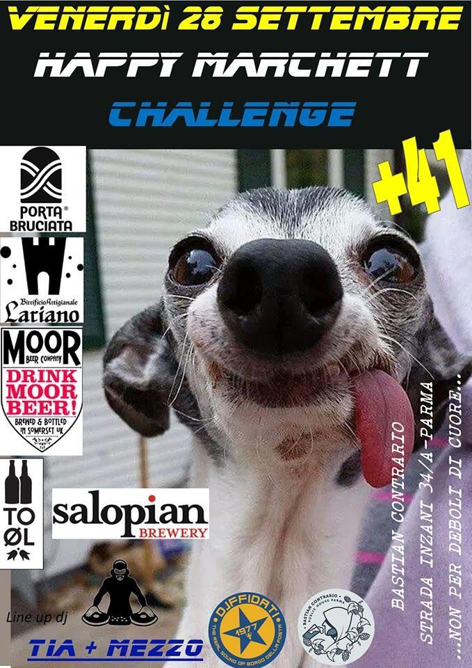 Happy marchett Challenge Bastian Contrario