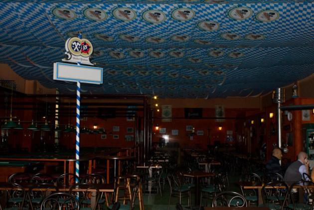 Al Twickenham Napoli-Parma  con una bella birra dell'oktoberfest