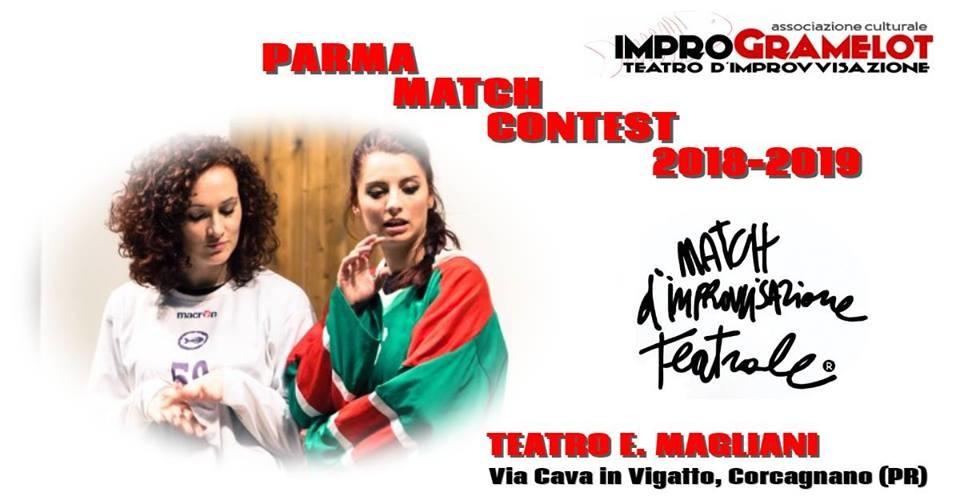 PARMA MATCH CONTEST 2018-2019 Match d'improvvisazione teatrale al teatro Magliani