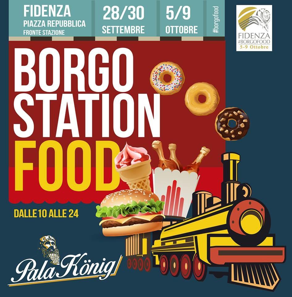 Borgo station food