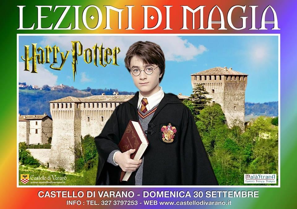 Lezioni di Magia con Harry Potter al castello di  Varano