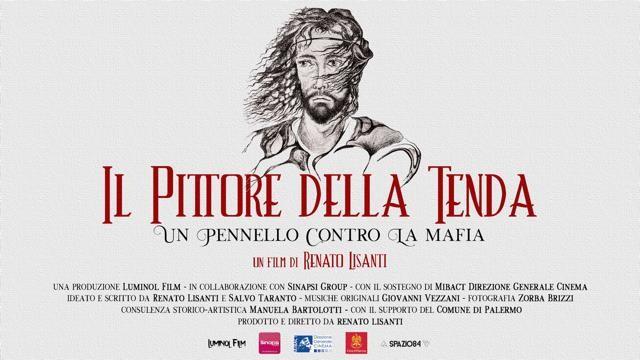 """""""Il Pittore della Tenda"""": al Cinema D'Azeglio il film sulla vita di Modica, l'artista antimafia"""