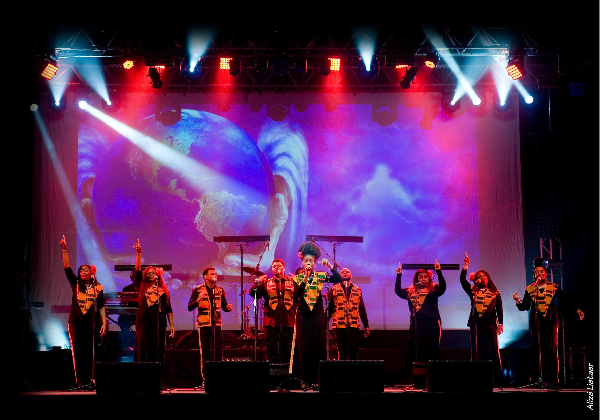 HARLEM  GOSPEL CHOIR, il più famoso coro gospel d'America al Paganini