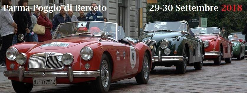 """""""Parma-Poggio di Berceto"""",  manifestazione automobilistica di regolarità per auto storiche"""