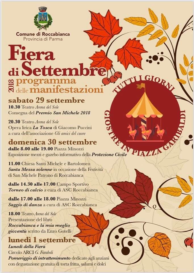 Fiera di settembre a Roccabianca