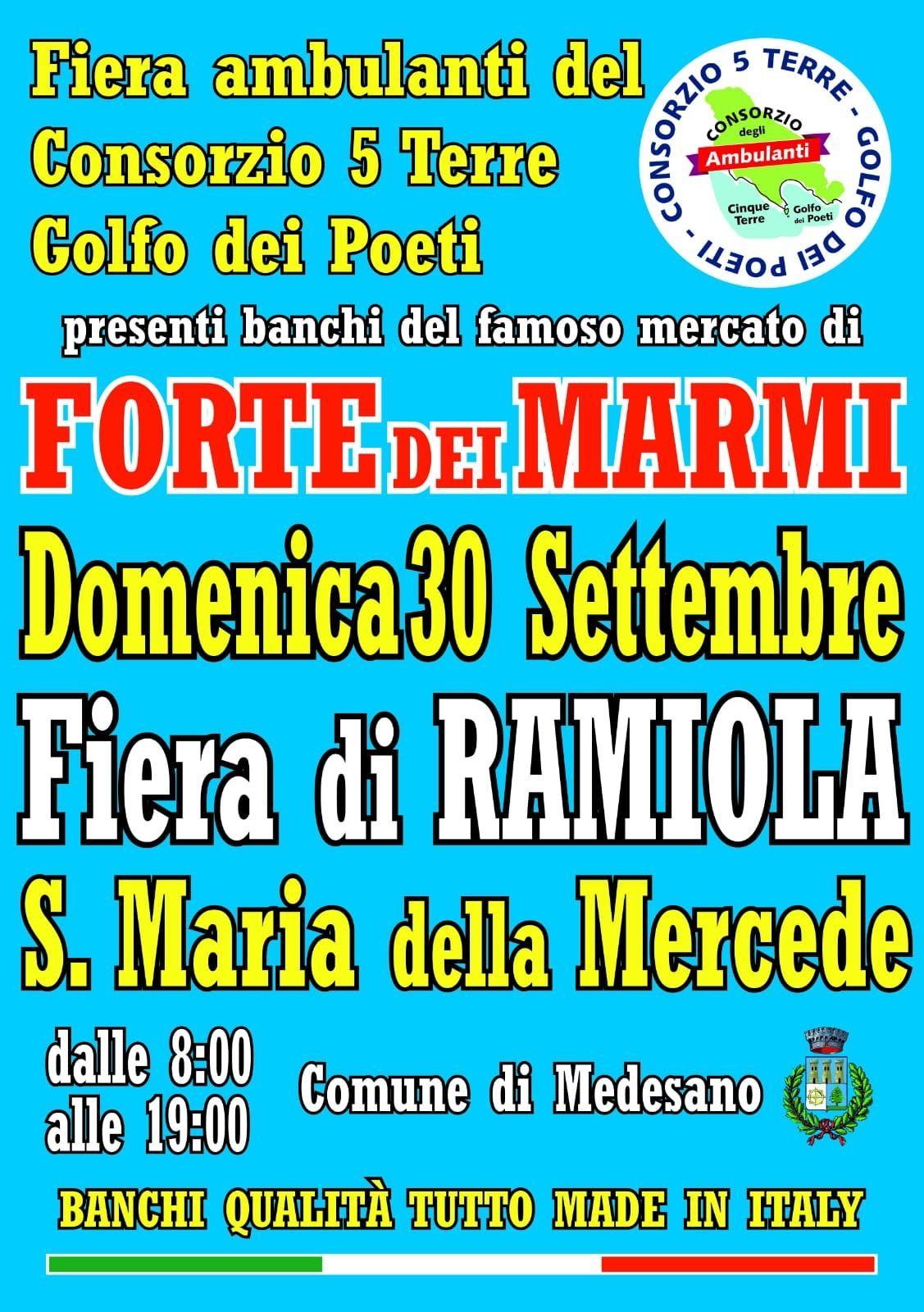 Alla fiera di Ramiola il mercato del Forte
