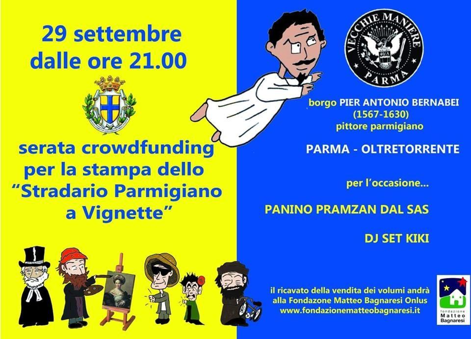 Presentazione Crowdfunding Dello Stradario Parmigiano A Vignette