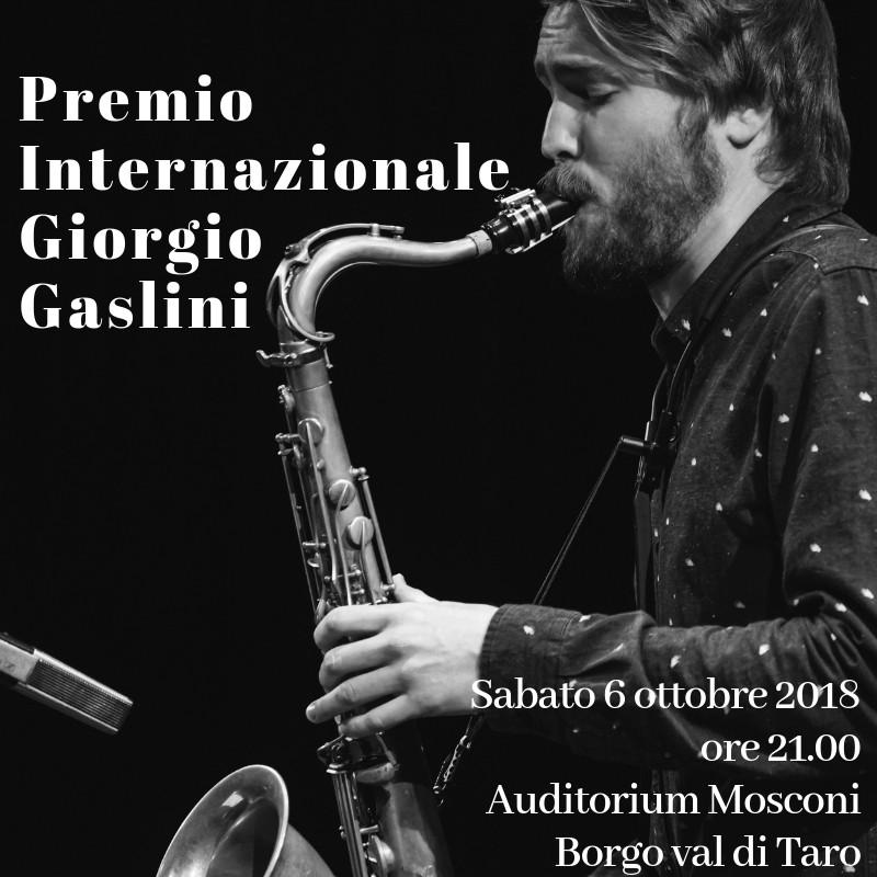Premio Internazionale Giorgio Gaslini a Mathias Hagen, giovane sassofonista