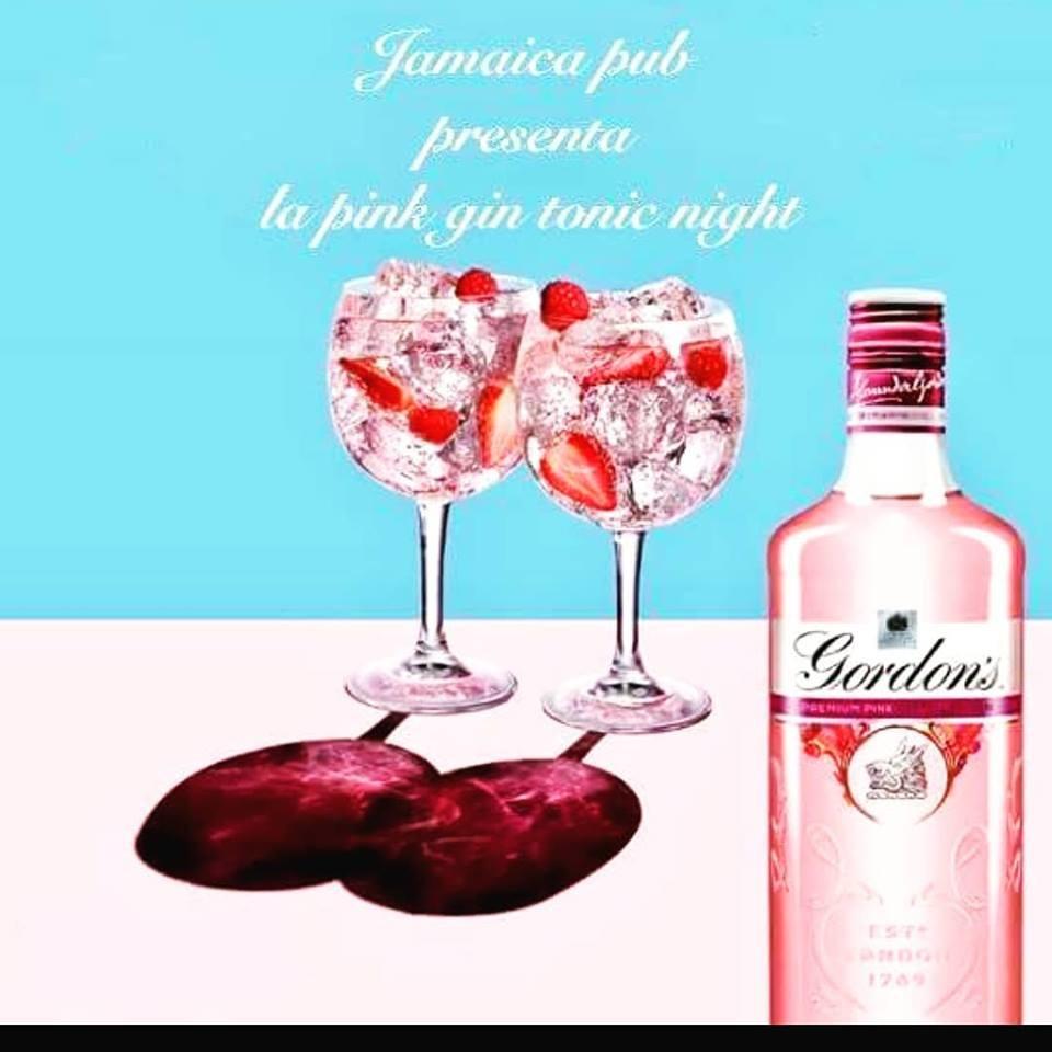 Il Pink Gin Tonic Night del Mercoledì latino del Jamaica