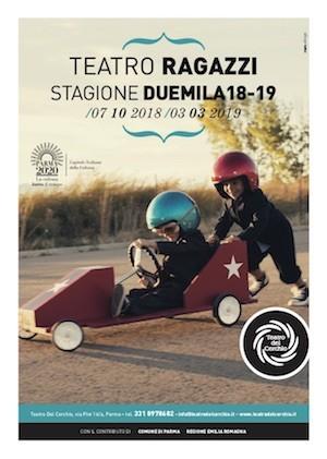 STAGIONE PER FAMIGLIE 2018-19 DEL TEATRO DEL CERCHIO