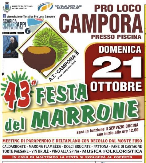 Festa del marrone a Campora