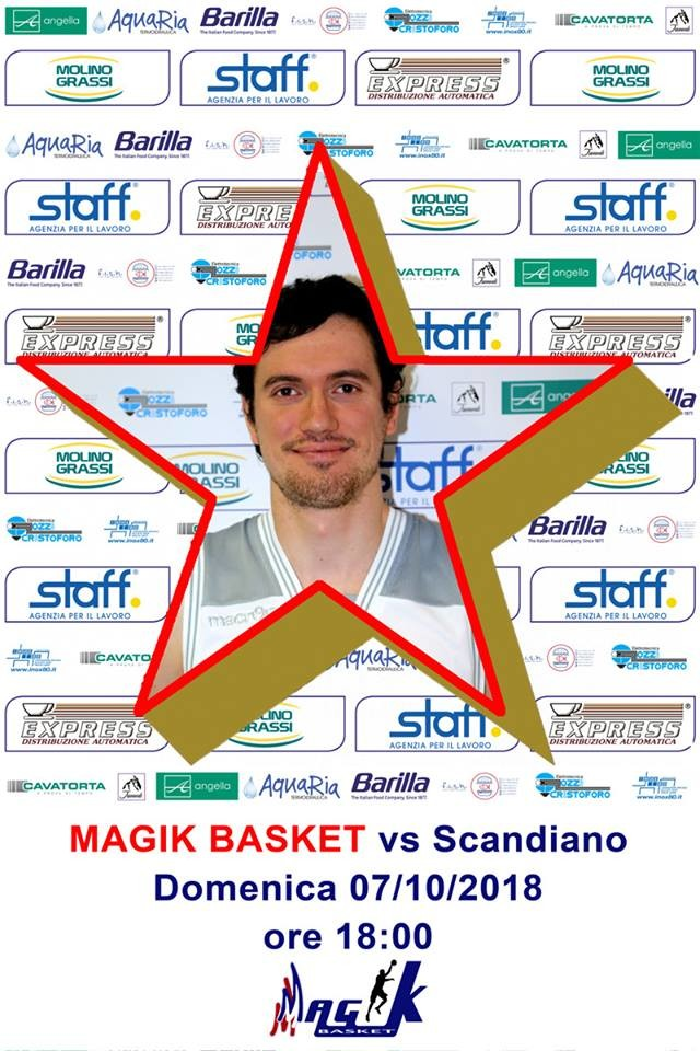 Magik basket vs Scandiano