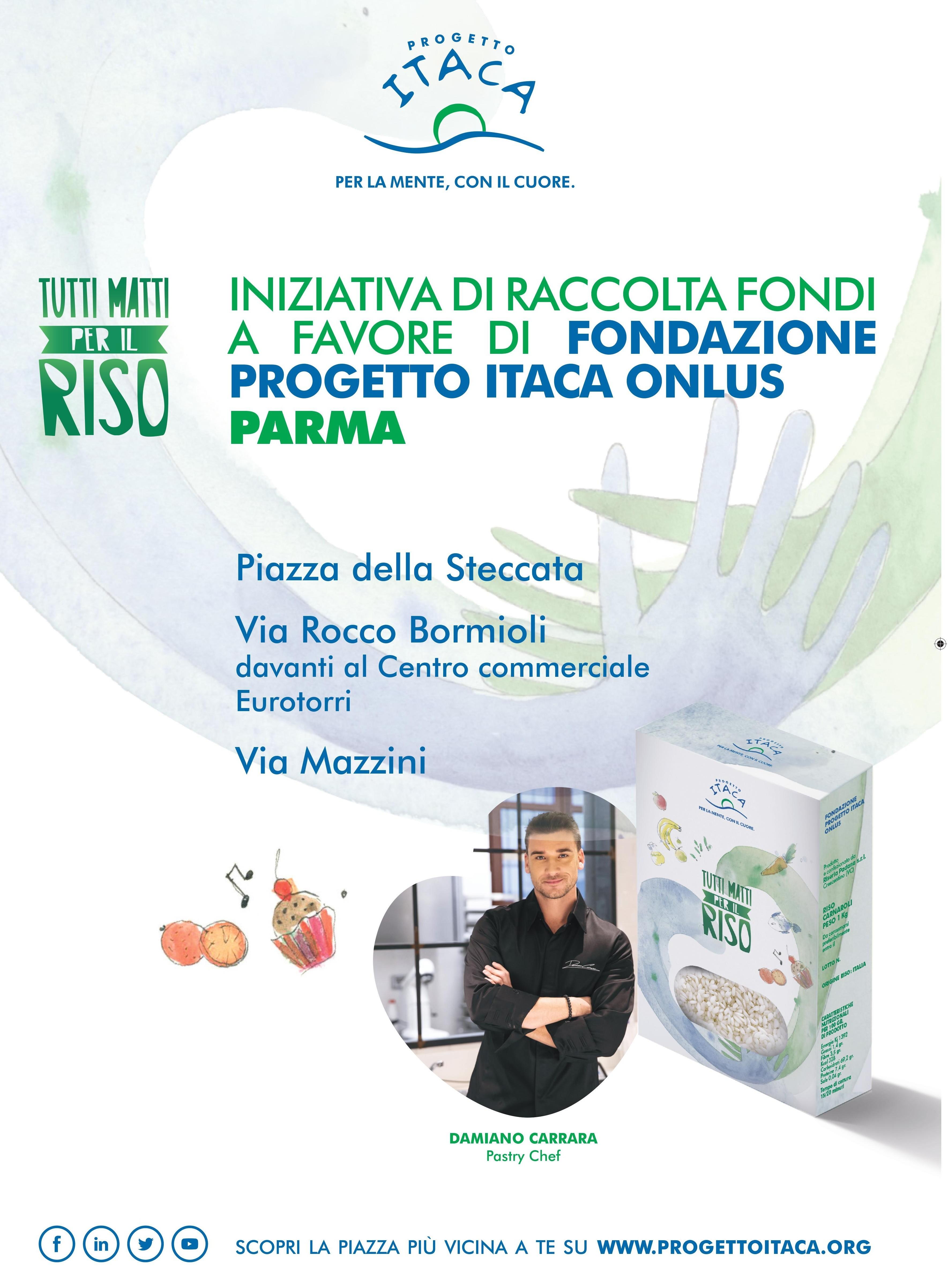"""Salute Mentale: """"Tutti matti per il riso"""" con Progetto Itaca Parma"""
