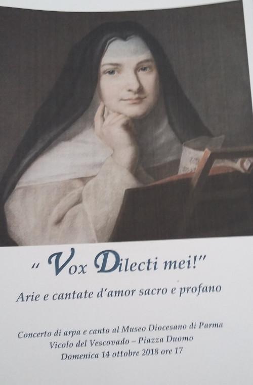 VOX DILECTI MEI, concerto