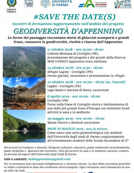 GEODIVERSITÀ D'APPENNINO: LE FORME DEL PAESAGGIO RACCONTANO STORIE DI GHIACCIAI SCOMPARSI E GRANDI FRANE