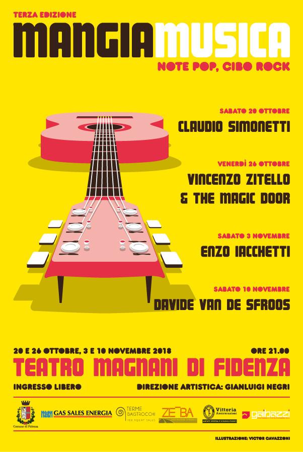 Mangiamusica al Teatro Magnani di Fidenza
