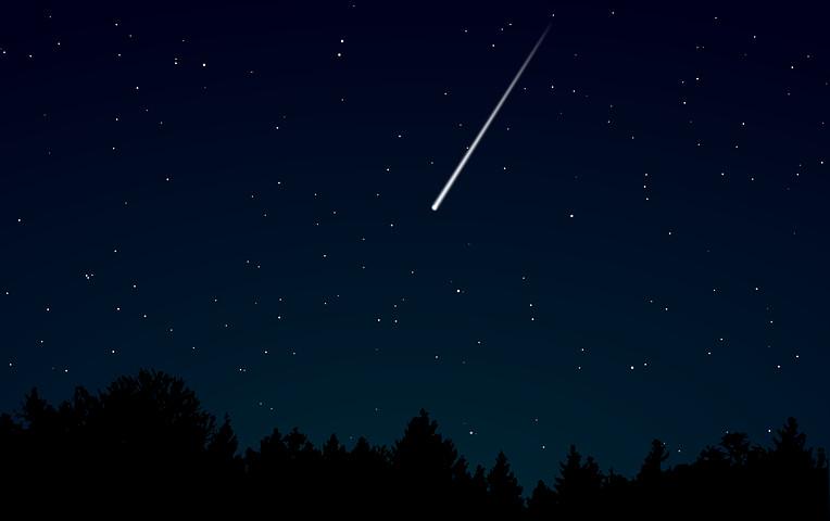 Notte dei desideri - Fuoco e Stelle cadenti delle Orionidi