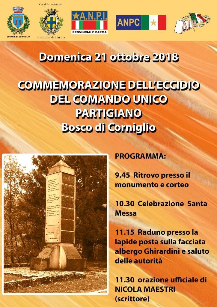Commemorazione Bosco di Corniglio