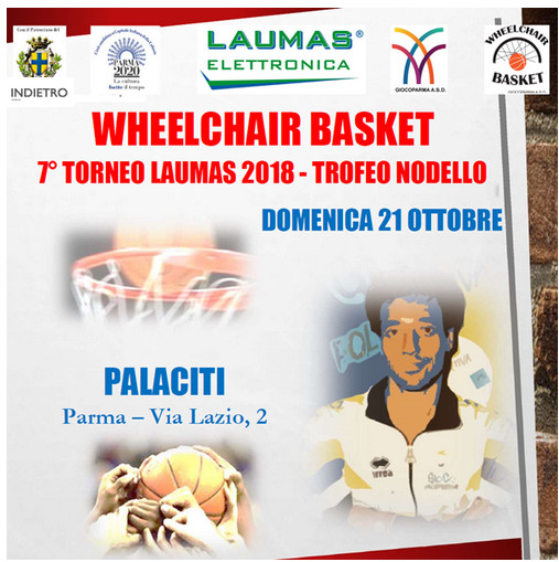 Wheelchair basket IL 21 ottobre il 7° torneo Laumas