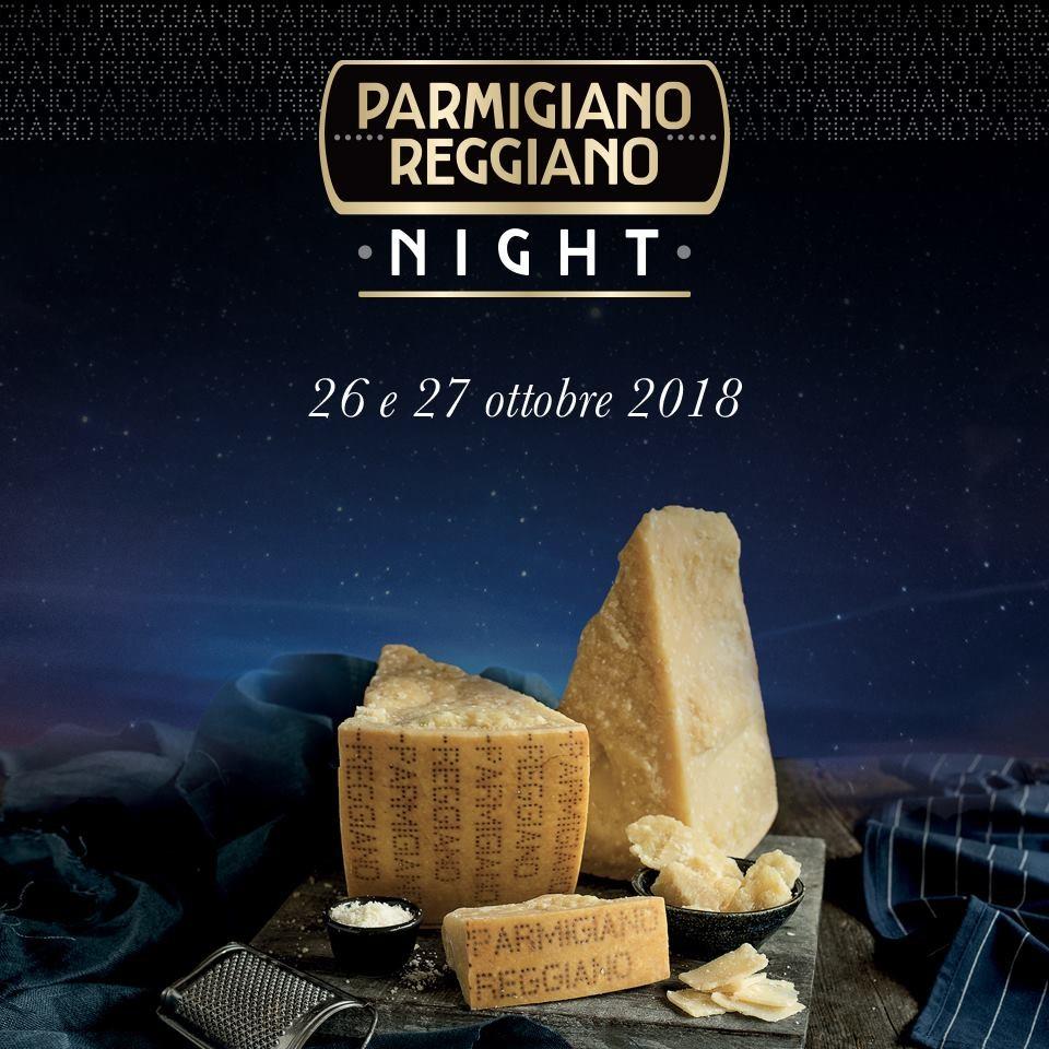 Parmigiano reggiano night all'Osteria della Stazione di Felino
