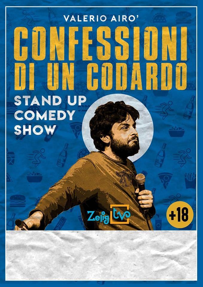Stand Up Comedy - Valerio Airó al Bastian Contrario