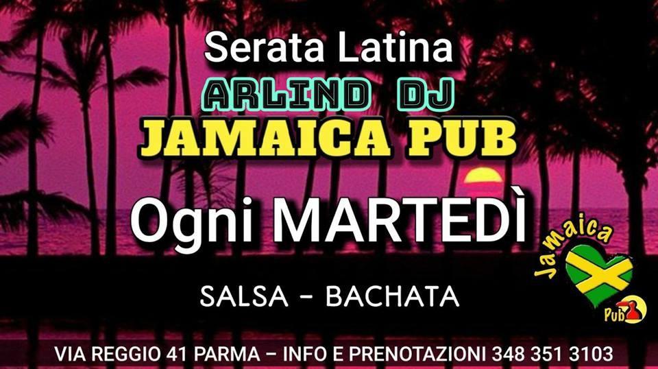 Serata latina al Jamaica pub