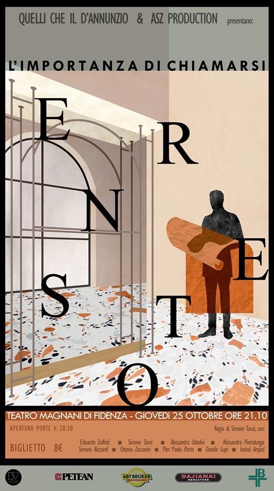 """""""L'importanza di chiamarsi Ernesto"""", di Quelli Che Il D'Annunzio. al Teatro Magnani"""