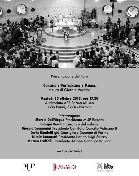 """Presentazione del volume """"Concilio e postconcilio a Parma"""""""