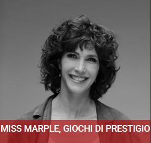 """Al Teatro Magnani """"Miss Marple, giochi di prestigio"""" con Maria Amelia Monti"""