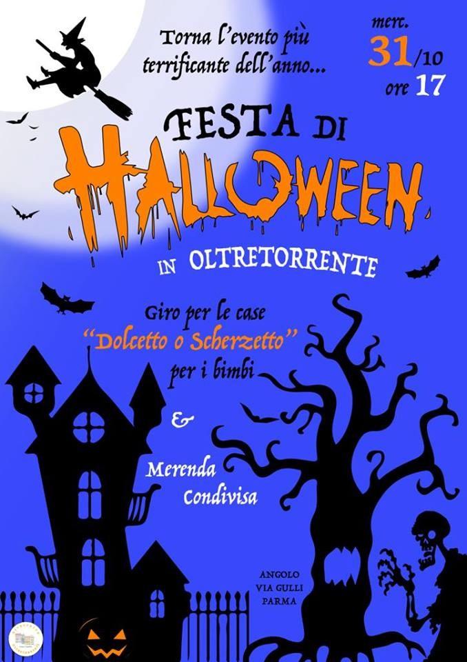 Festa di halloween in Oltretorrente