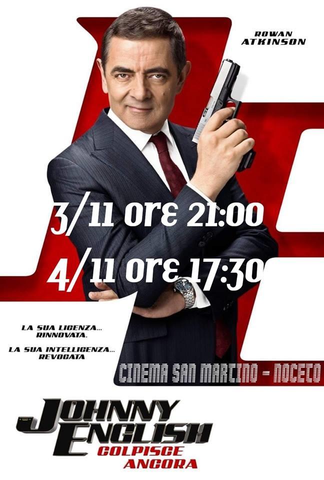 Al Cinema San Martino Noceto  JOHNNY ENGLISH - colpisce ancora