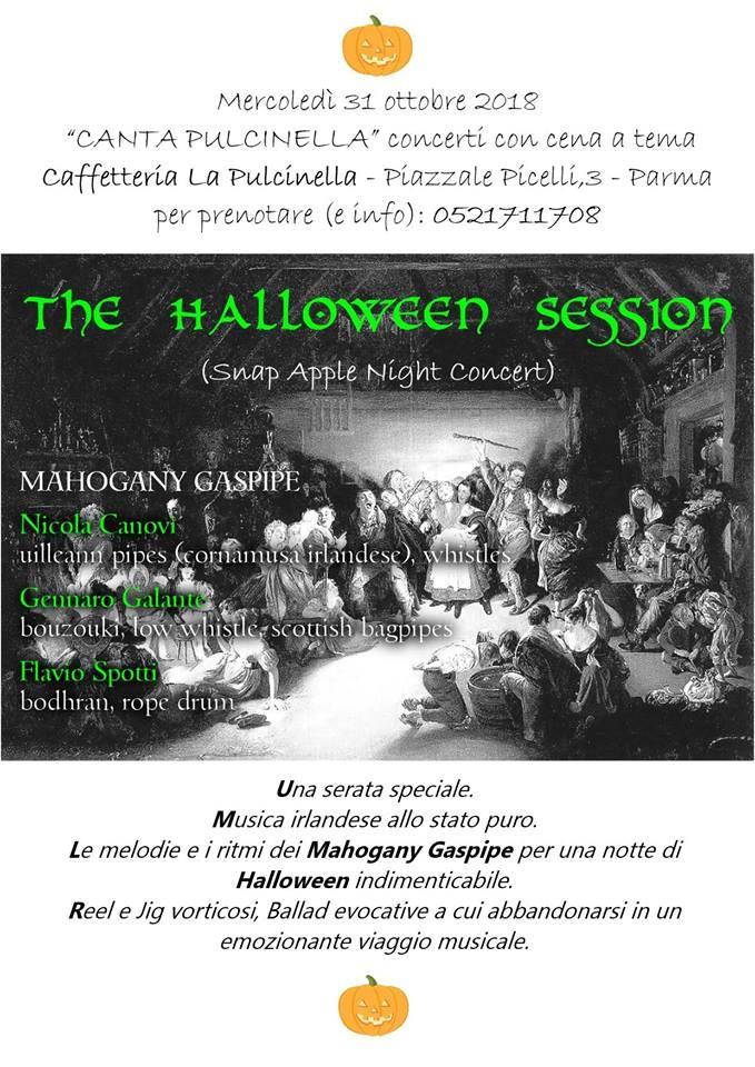 Al Pulcinella festa celtica per Holloween!