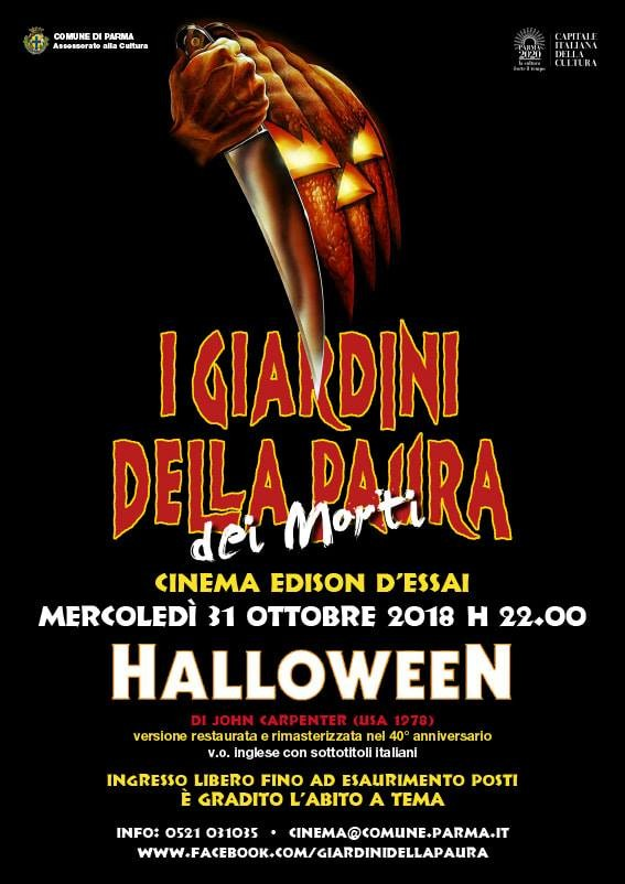 """Halloween"" al cinema Edison"
