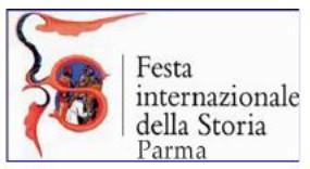 Festa Internazionale della Storia-Parma: programma da lunedì 29 ottobre a domenica 11 novembre.