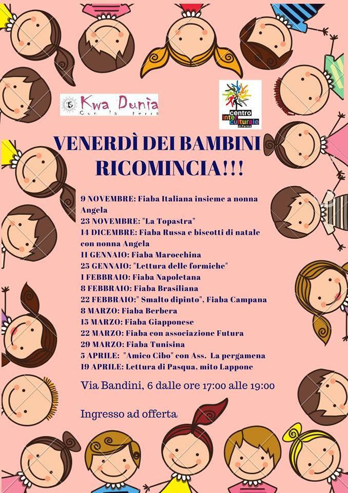 Il venerdì dei bambini a cura di Kwa Dunia