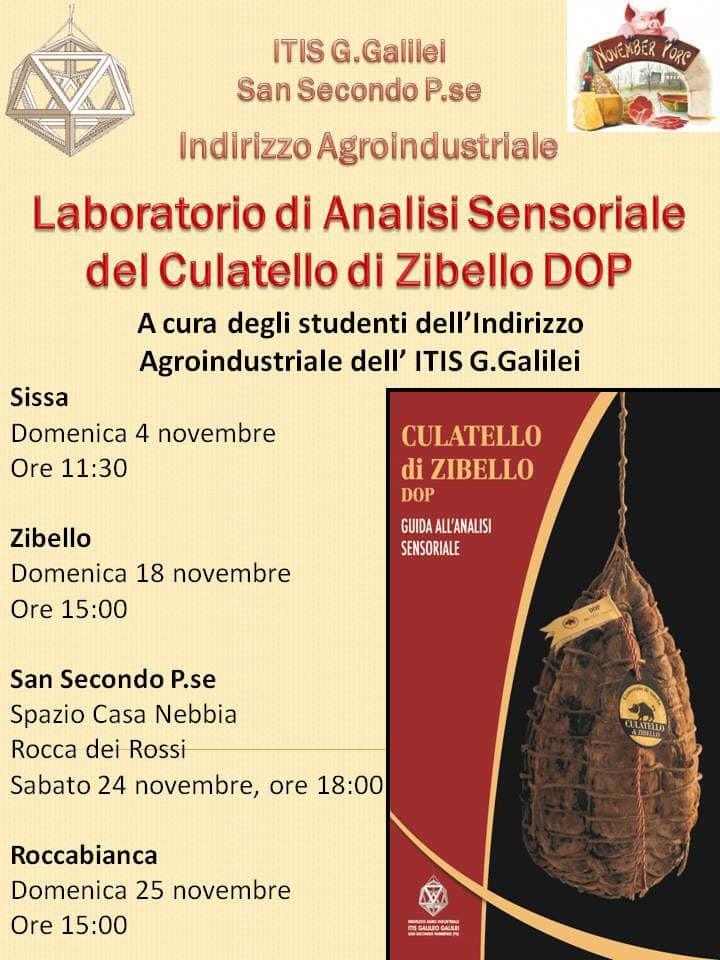 Laboratorio di analisi sensoraile del culatello di Zibello  DOP