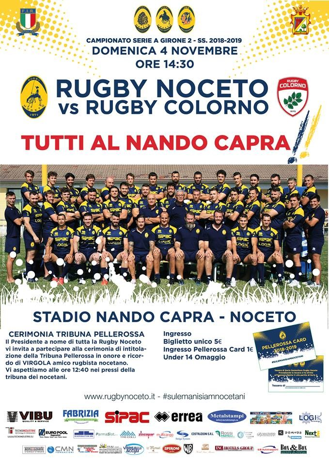 SERIE A Rugby Noceto F.C. vs Rugby Colorno