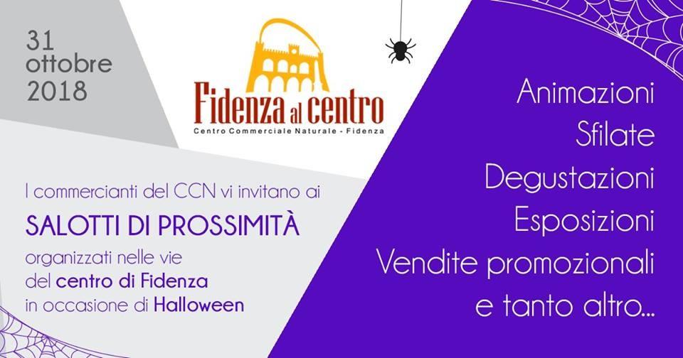 Salotti di prossimità in occasione di Halloween a Fidenza
