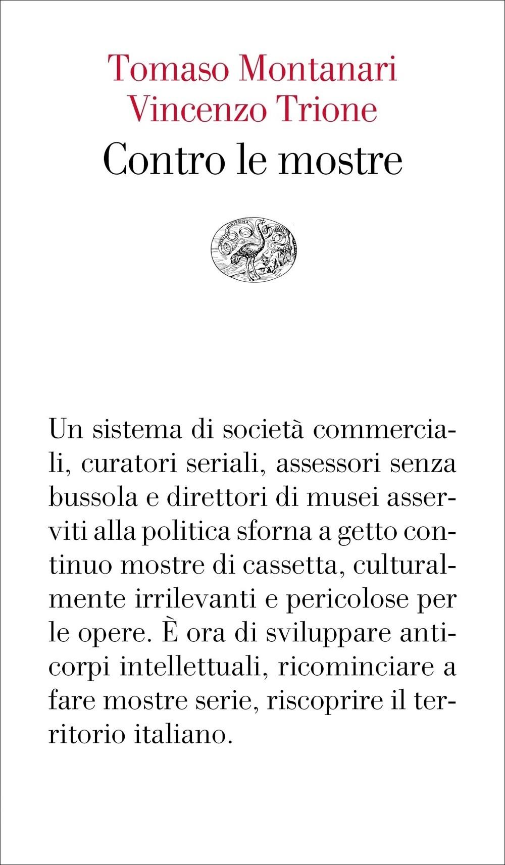 """ALL'UNIVERSITÀ DI PARMA VINCENZO TRIONE PRESENTA """"CONTRO LE MOSTRE"""""""