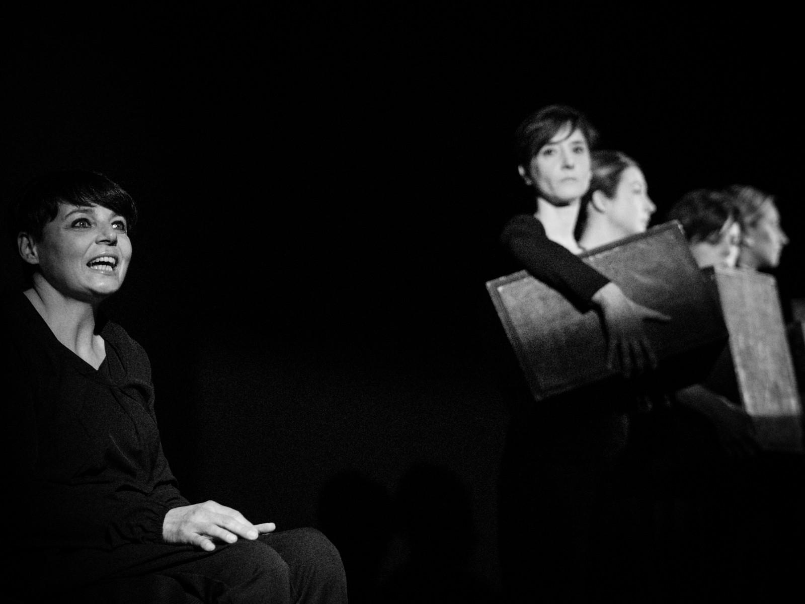 Al Teatro del Tempo  LUCILLE il pudore violato delle donne dell'Olocausto
