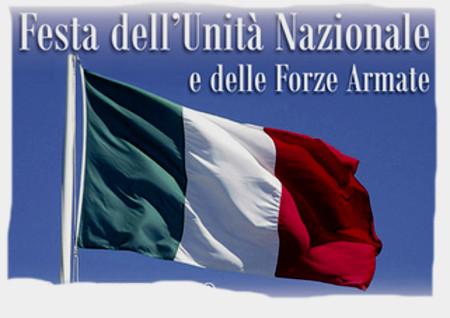 4 novembre GIORNO DELL'UNITÀ NAZIONALE E FESTA DELLE FORZE  ARMATE  a San Secondo