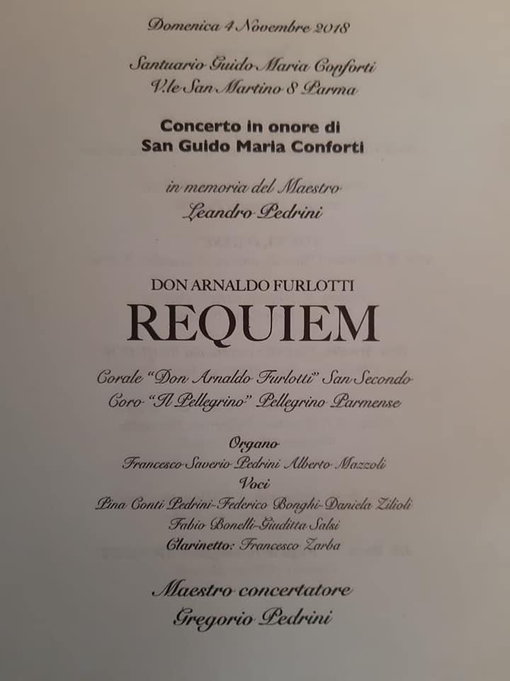 Concerto in onore di San  Guido Maria Conforti