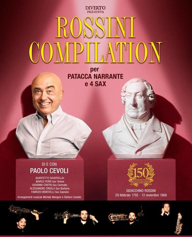 Paolo Cevoli e Saxofollia - Rossini Compilation
