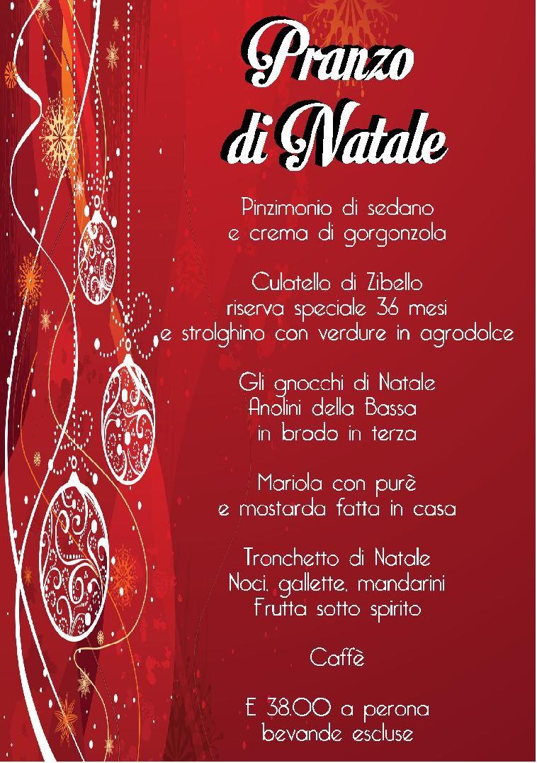 """Pranzo di Natale  a """"Il Leon d'Oro"""""""