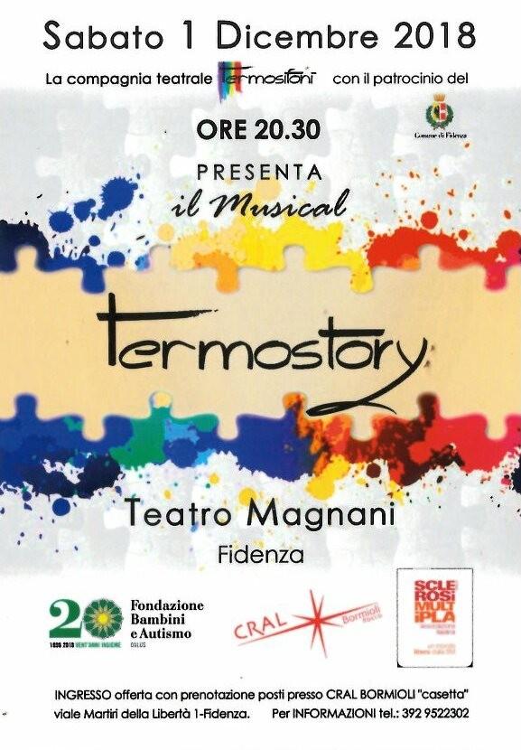 """Il musical """"Termostory"""" al teatro Magnani"""
