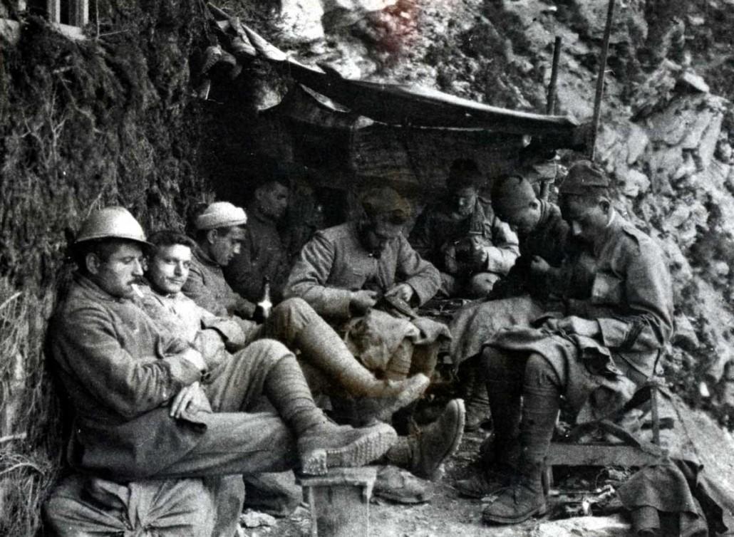 Il rancio del soldato,  mostra sull'alimentazione al fronte e a casa durante la Grande Guerra '15-'18