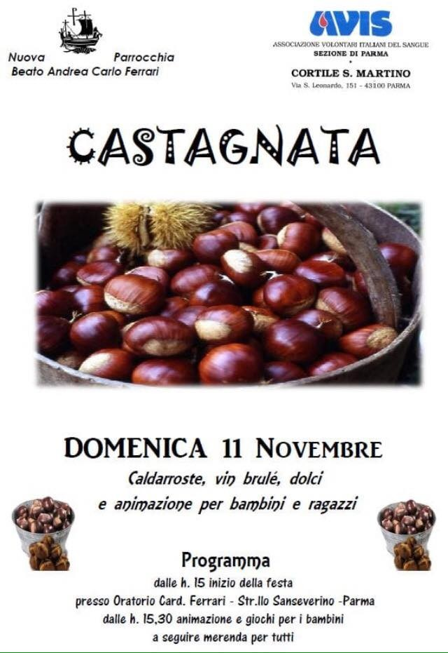 Castagnata Avis Cortile San Martino