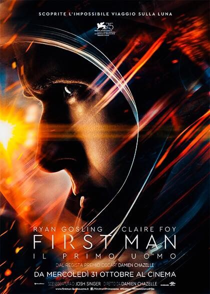A Mycinem@ - Fidenza  FIRST MAN- IL PRIMO UOMO